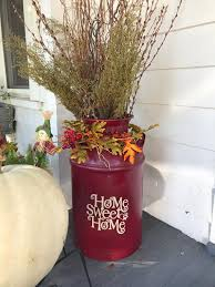 Home Sweet Home Decal With Paw Print For Milk Can Or Other Etsy