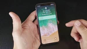 iphone x how to turn on flashlight