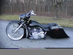 street glide 30 inch wheel bagger
