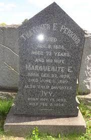 Marguerite E Davidson Perkins (1839-1897) - Find A Grave Memorial