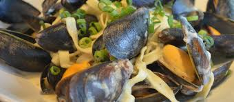 Mussels with Garlic, Parmesan and Pasta ...