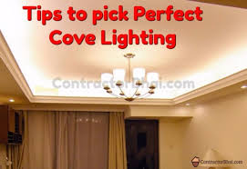 how to pick perfect cove lighting