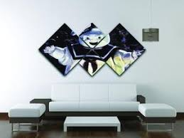 Marshmallow Man From The Ghostbusters 4 Square Multi Panel Canvas Canvas Art Rocks