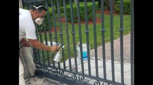 Professional Paint For Aluminum Railings Youtube