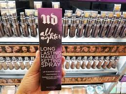 urban decay all nighter makeup setting