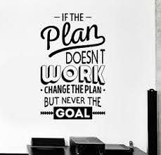 Vinyl Wall Decal Inspire Office Decoration Motivation Stickers Mural Ig4390 Ebay