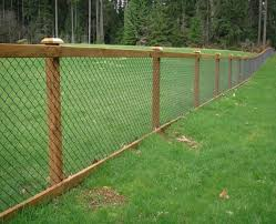 Post Fence Wire Mesh Big Jerry S Hog Wire Fence Backyard Fences Fence Options