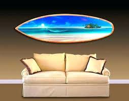 surfboard wall art metal rays uk