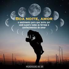mensagem de boa noite amor tas para