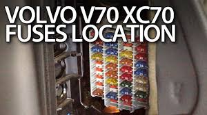 volvo v70 xc70 fuses and relays