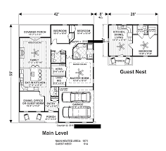 home plans with in law suites or guest
