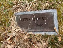 Effie Davis (1911-1940) - Find A Grave Memorial