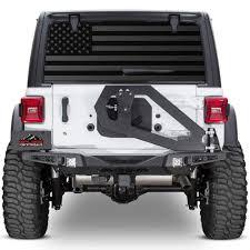 Xplore Offroad Jeep Wrangler American Flag Rear Window Tint Decal Jeep Wrangler Rear Window Decals Jeep Wrangler Accessories
