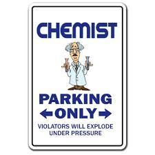Chemist Decal Parking Decals Engineering Tool Chemistry Lab Tech School Indoor Outdoor 9 Tall Walmart Com Walmart Com
