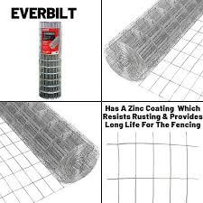 14 Gauge Galvanized Steel Everbilt Welded Wire Fencing 5 Ft X 100 Ft Business Industrial Fencing Alberdi Com Mx