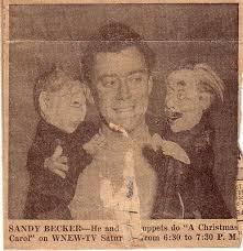 "A New Take on Sandy Becker's ""Christmas Carol"" | Jeffpickens's Blog"