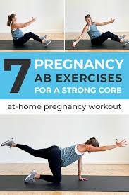 7 safe pregnancy ab exercises nourish