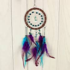 Black Dream Catcher Feather Native America Indian Bad Dreamcatcher Kids Room For Sale Online Ebay