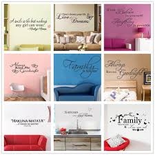 Art Words Quote Wall Sticker Family Quotes Wall Decal Home Decoration Bedroom Living Room Removable Vinyl Butterfly Flowers Kids Room Wall Decals Kids Room Wall Stickers From Mart07 4 92 Dhgate Com