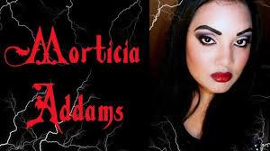 morticia beauty makeup videos