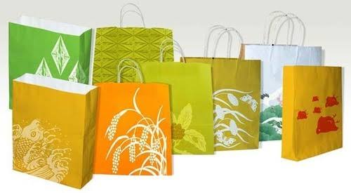 Image result for printed paper bags