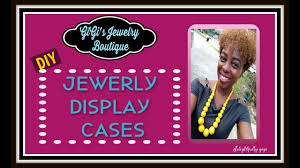 diy jewelry display cases paparazzi