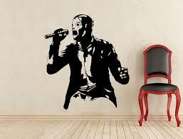 Amazon Com Andre Shop Corey Taylor Slipknot Wall Decal Music Vinyl Sticker Home Art Wall Decor Mural Removable Waterproof Decsx6a Home Kitchen