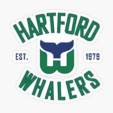 Hartford Whalers Ct Poster By Annabelsbelongs Redbubble