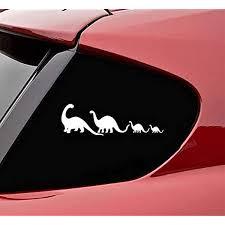 Amazon Com Slap Art Dinosaur Family Vinyl Decal Sticker Automotive