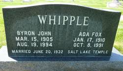 Ada Fox Whipple (1910-1991) - Find A Grave Memorial