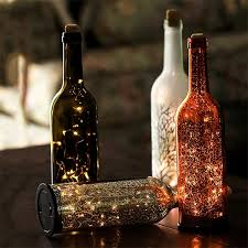 decorative led wine bottle light