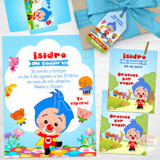 Kit Imprimible Plim Plim El Payaso Decoracion Cumpleanos Candy Bar
