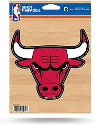 3 Or 5 Chicago Bulls Nba Basketball Logo Car Bumper Sticker Decal