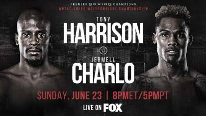 Mola TV Tony Harrison vs Jermell Charlo
