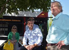 Kinzinger Weighs In On Shootings While Touring Region   WNIJ and WNIU