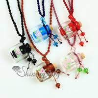 murano glass flower pendant canada