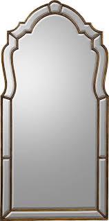 wall mirror john richard wood frame