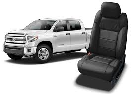 seat upholstery for the toyota tundra