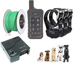 Amazon Com Janpet Underground Electric Dog Fence 1200yards Remote Dog Training Shock Collar Combo Waterproof Rechargeable Receiver Collars For Medium Large Dogs 3 Dogs Training Set Janpet Pet Supplies