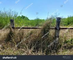 Wooden Fence Post Metal Brace Stock Photo Edit Now 1363588676