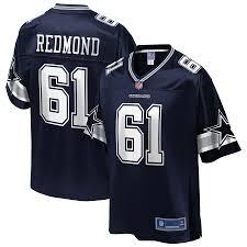 Youth Dallas Cowboys Adam Redmond NFL Pro Line Navy Team ...