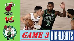 Boston Celtics vs Miami Heat Game 3 ...