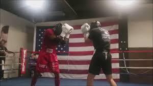 Teofimo Lopez sparring Yordenis Ugas ...