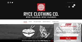 ryce clothing tripster developers