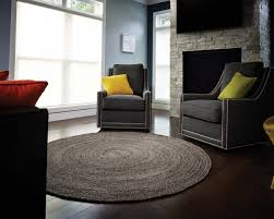 carpets gray large round area rugs