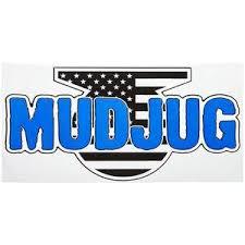 New True Blue Mud Jug Die Cut Decal