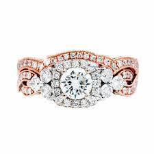 neil lane 2 01 ctw diamond halo wedding