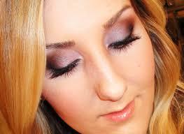 smokey eye purple bronze makeup tutorial