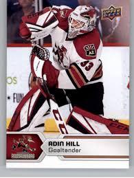 Amazon.com: 2017-18 Upper Deck AHL #11 Adin Hill Tucson Roadrunners:  Collectibles & Fine Art