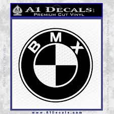 Bmx Bike Decal Sticker Bmw Parody A1 Decals